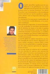 Mondialisation des marches et circulation des titres - 4ème de couverture - Format classique