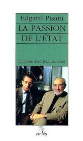 Passion De L'Etat (La) - Couverture - Format classique
