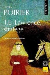 T.E. Lawrence, Stratege - Couverture - Format classique