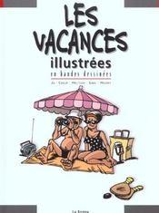 Les Vacances En Bd - 4ème de couverture - Format classique