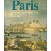 Paris ; de la Préhistoire à nos jours - Couverture - Format classique