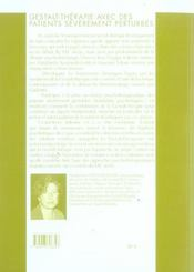 Gestalt-Therapie Avec Des Patients Severement Perturbes - 4ème de couverture - Format classique