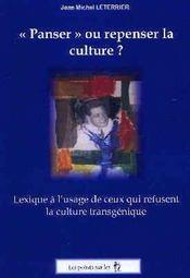 Penser Ou Repenser La Culture - Intérieur - Format classique