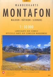 Montafon Pedestre - Couverture - Format classique