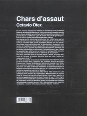Chars D'Assaut - 4ème de couverture - Format classique