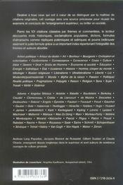 Citations Singulieres 101 Citations Commentees Pour Se Distinguer - 4ème de couverture - Format classique