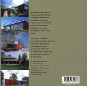 Archi pas chère ! 20 maisons d'aujourd'hui - 4ème de couverture - Format classique