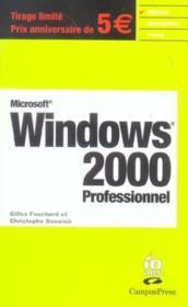 Windows 2000 - Couverture - Format classique