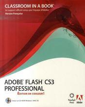 Flash cs3 ciab editioncouleur - Intérieur - Format classique