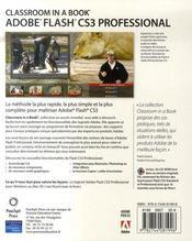 Flash cs3 ciab editioncouleur - 4ème de couverture - Format classique