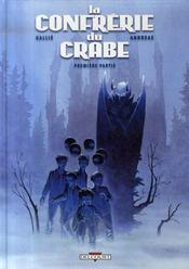 La confrérie du crabe t.1 - Intérieur - Format classique