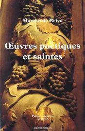 Les oeuvres poetiques et saintes 1653 - Intérieur - Format classique