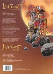Lanfeust des étoiles t.3 ; les sables d'Abraxar - 4ème de couverture - Format classique