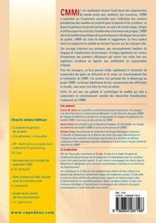 Comprendre cmmi et ses applications ; une introduction pratique a l'amelioration de processus - 4ème de couverture - Format classique