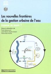 Nouvelles frontieres gestion urb eau - Intérieur - Format classique