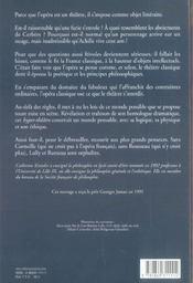Poetique De L'Opera Francais - 4ème de couverture - Format classique