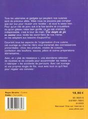 Des Doigts De Fee En Cuisine ; Trucs Et Astuces De Nos Meres - 4ème de couverture - Format classique