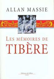 Les memoires de tibere - Intérieur - Format classique