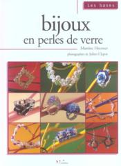 Bijoux En Perles De Verre - Couverture - Format classique