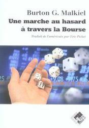 Une Marche Au Hasard A Travers La Bourse - Intérieur - Format classique