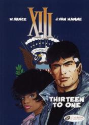 Vente livre :  XIII T.8 ; thirteen to one  - Jean Van Hamme - William Vance