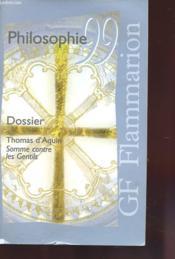 Philosophie 99 - Dossier Thomas D'Aquin - Couverture - Format classique