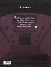 Les voleurs d'empires t.3 ; un sale métier - 4ème de couverture - Format classique