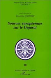 Sources Europeennes Sur Le Gujarat - Couverture - Format classique