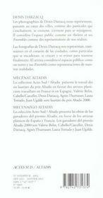 Denis Darzacq ; Laureat Altadis - 4ème de couverture - Format classique