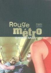 Rouge métro - Intérieur - Format classique