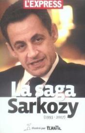 La Saga Sarkozy - Couverture - Format classique