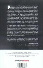 La Saga Sarkozy - 4ème de couverture - Format classique