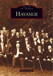 Hayange - Couverture - Format classique