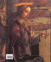 L'annonciation italienne ; une histoire de perspective - 4ème de couverture - Format classique