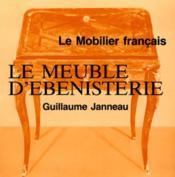Le meuble d'ebenisterie - Couverture - Format classique