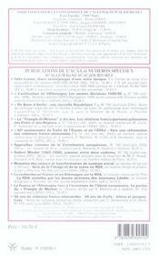 Revue Allemagne D'Aujourd'Hui N.174 ; Le Cinéma Allemand Dans Son Contexte Economique - 4ème de couverture - Format classique