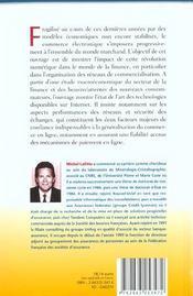 Economie digitale et services financiers - 4ème de couverture - Format classique