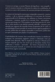 Histoire de la notation de la période baroque à nos jours - 4ème de couverture - Format classique