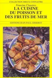 La Cuisine Du Poisson Et Des Fruits De Mer - Intérieur - Format classique