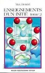 Enseignements D'Un Initie - T. 2 - Couverture - Format classique