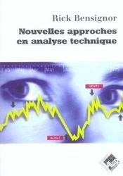 Nouvelles approches en analyse technique - Intérieur - Format classique