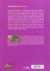 Le Busard Cendre - 4ème de couverture - Format classique