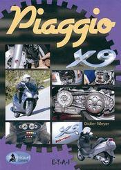 Piaggio x9 - Couverture - Format classique