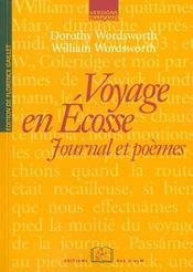 Vente  Voyage en Ecosse ; journal et poèmes  - Dorothy Wordsworth - William Wordsworth