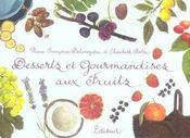 Desserts et gourmandises aux fruits - Intérieur - Format classique