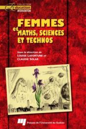 Femmes et maths, sciences et technos - Couverture - Format classique