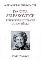 Danica Seleskovitch, interprète et témoin du XXe siècle - Intérieur - Format classique