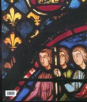 L'art du vitrail, xi-xvi siecles - 4ème de couverture - Format classique
