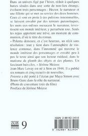 Polenta - 4ème de couverture - Format classique