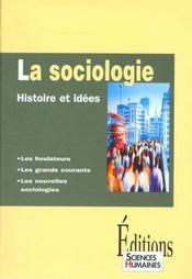 Sociologie ; histoire et idées - Intérieur - Format classique